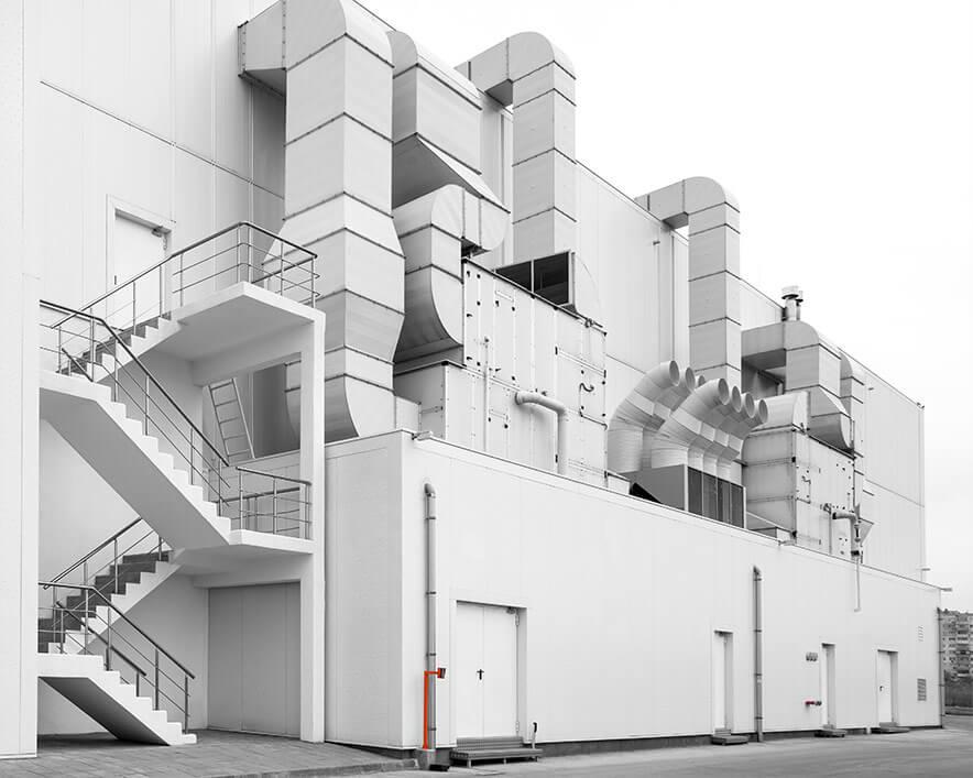 Gebäudetechnik | APRO HKLS Lüftungsanlage