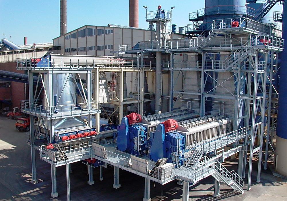 Konstruktionsbüro APROKON: Planung der Stahlkonstruktion zur Aufnahme von Behältern und Filterpressen